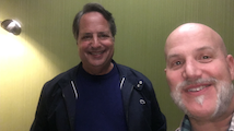 Jon Lovitz and Al in the green room at Comedy Works