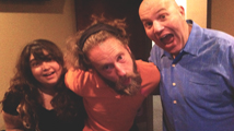 Al with his best buds, Carmen Morales and Josh Blue!